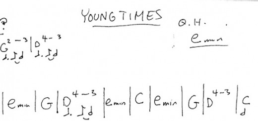 YOUNG-TIMES-chord-chart